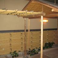 Trellis Design Bamboo Unique Hardscape