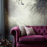 Trend Watch Jewel Tones Interiors Silver Wall Art