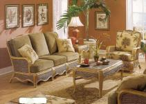 Trends Wicker Furniture Sunroom Decor Room