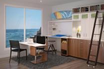 Trendy Small Home Office Den Design Ideas Combinico