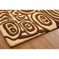 Tribal Designer Tufted Modern Handmade Woollen Rug