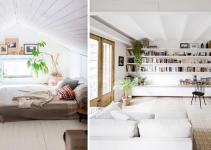 Tricks Make Your Ceiling Look Higher Elle Decoration