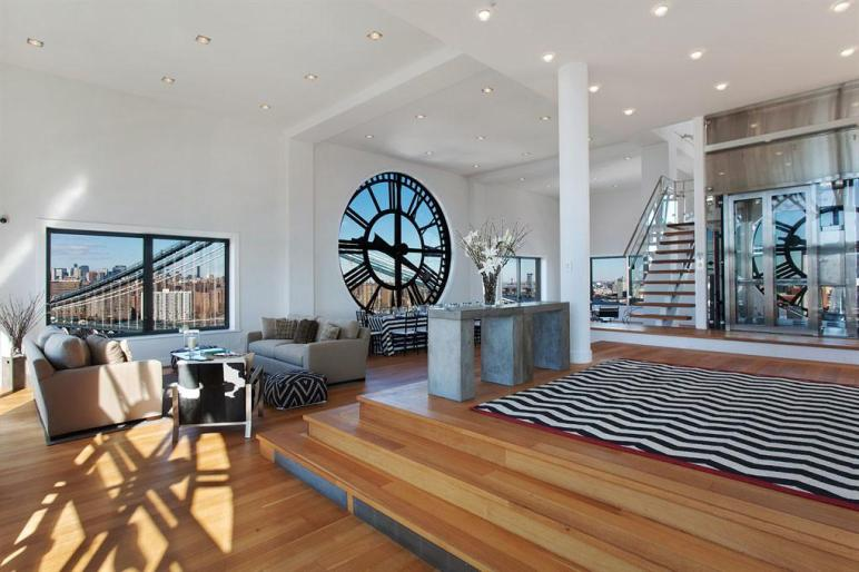 Triplex Penthouse Atop Brooklyn Clock Tower