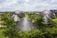 Trong Nghia Architects Mushroom Shaped Bamboo