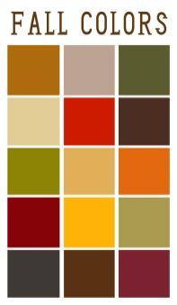 True Autumn Color Palette Counterpoint