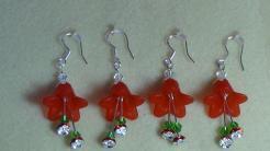 Tutorial Christmas Bell Earrings Video