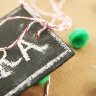 Tutorial Diy Wooden Chalkboard Gift Homemade Ginger