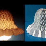 Tutorial Paper Bell Miura Fold Lampshade
