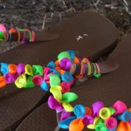 Tutorials Festive Flip Flops Tutorial