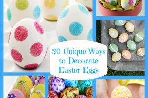 Twenty Unique Ways Decorate Easter Eggs Bullock Buzz