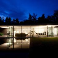 Ultra Modern Minimal Glass House Design
