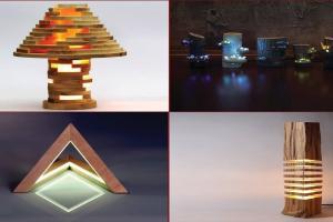 Unbelievable Wooden Lamp Design Handmade