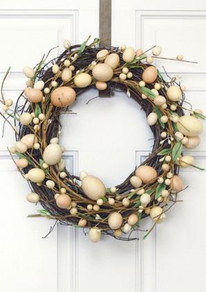 Uncategorized Original Moss Twig Mini Egg Wreath