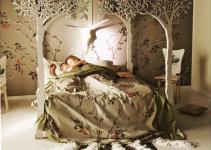 Under Apple Tree Canopy Bed Modern Romantic Scandinavian