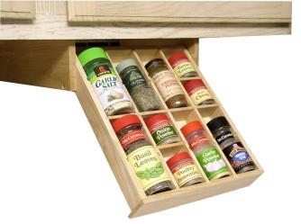 Under Cabinet Spice Rack Smart Solution Your