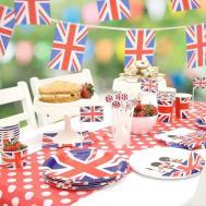 Union Jack Party Ideas Delights Blog