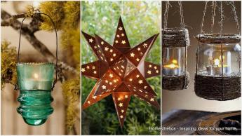 Unique Beautiful Diy Garden Lanterns Homesthetics
