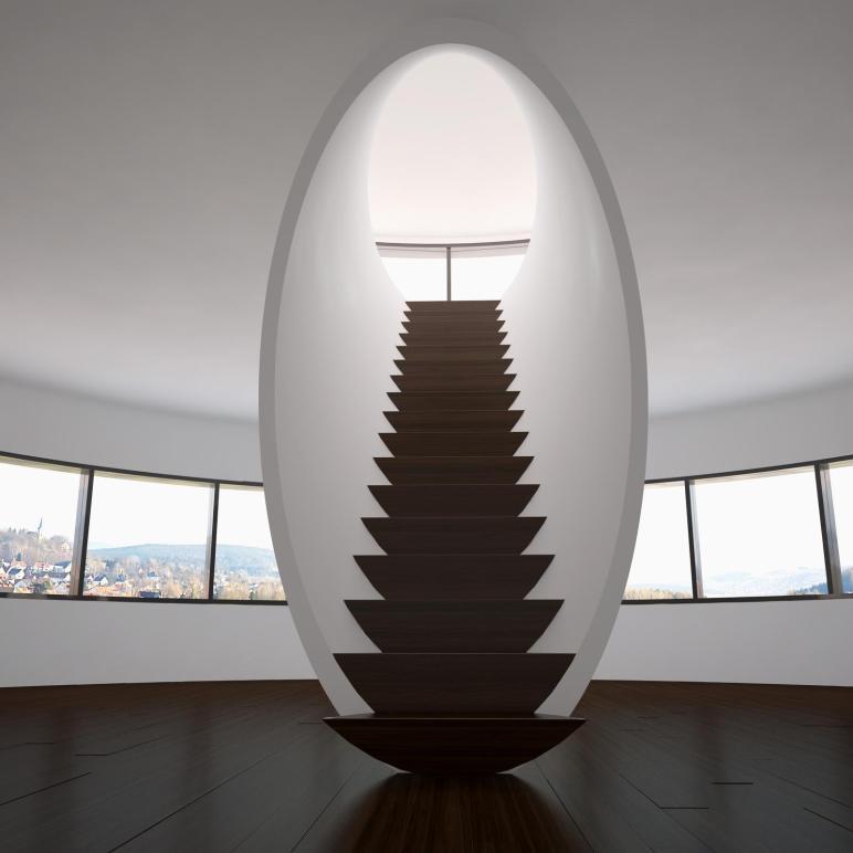 Unique Creative Staircase Designs Modern Homes
