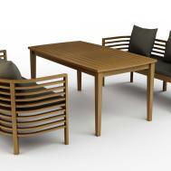 Unique Design Outdoor Wood Furniture Ideas Wicker