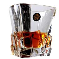 Unique Design Transparent Whiskey Glass Wine Cup Drinking