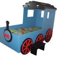 Unique Toddler Bed Design Boys Train Shape