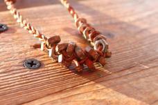 Unisex Post Apocalyptic Rusted Hex Nut Bracelet
