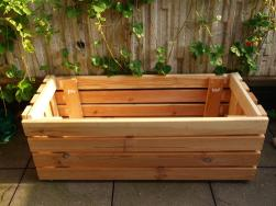 Upcycle Making Planter Bed Frame Slats