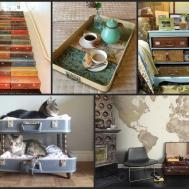 Upcycled Furniture Ideas Repurposed Old Suitcases
