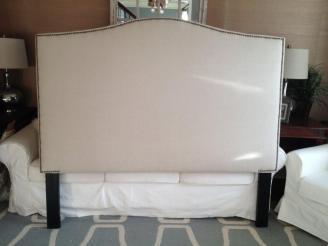 Upholstered Queen Headboard Terrific Nailhead