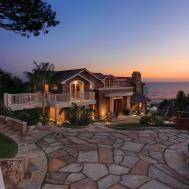 Usa Laguna Beach Mansion Night Cities Houses