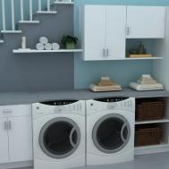 Useful Spaces Practical Laundry Room