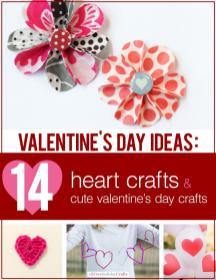Valentine Day Ideas Heart Crafts Cute