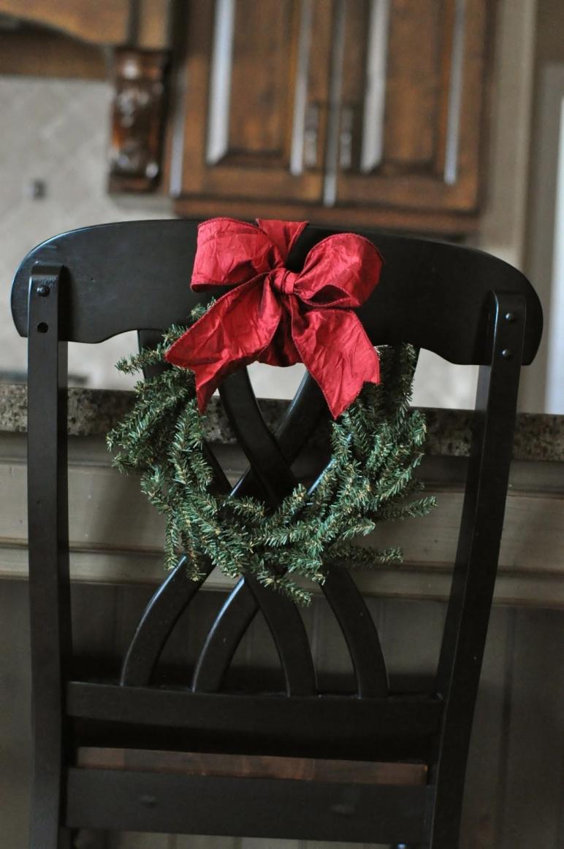 Valentine Heart Wreaths Dining Chair Decor Little