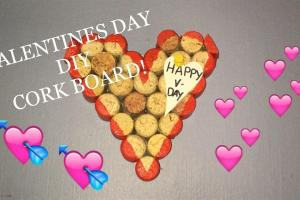 Valentines Day Easy Diy Cork Board