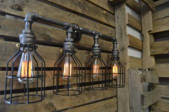 Vanity Light Edison Bathroom Lighing Industrial