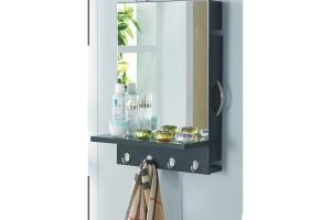 Varick Apopka Hidden Jewelry Storage Wall Mounted