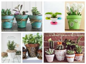 Very Nice Cheerful Ideas Decorate Terracotta