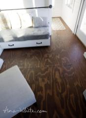 Video Stain Plywood Floor Subfloor Flooring Tiny