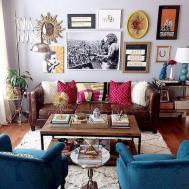 Vintage Small Living Room Decorating Ideas Homstuff