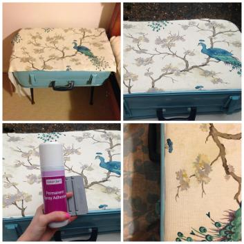 Vintage Suitcase Table Diy