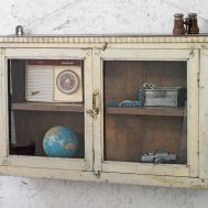 Vintage Wall Cabinet Sold Scaramanga
