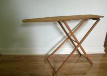Vintage Wooden 1950 Child Ironing Board Shabby Chic