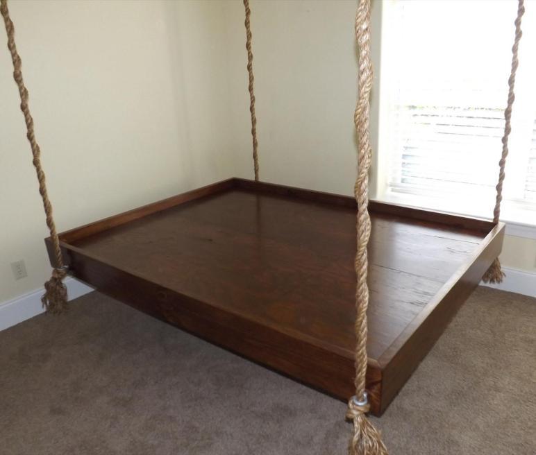 Wadmalw Hanging Bed Carolinahangingbeds Etsy