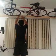 Wall Ceiling Bike Rack Under