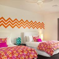 Wall Decal Chevron Geometric Zig Zag Mod Wallstargraphics
