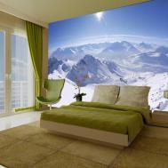 Wall Mural Mountain Scene Wallsorts