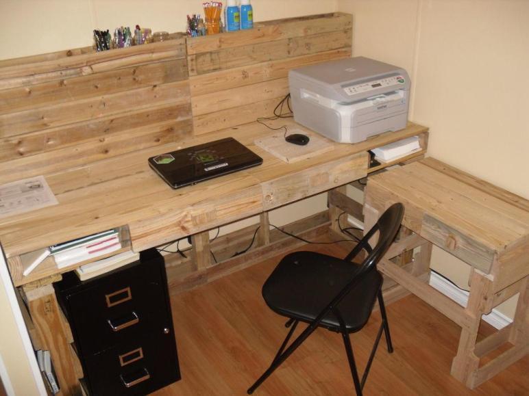 Want Make Pallet Desk Enter Here Choose