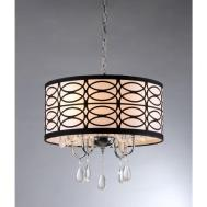 Warehouse Tiffany Olga Light Chrome Crystal Ceiling