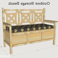 Waterproof Outdoor Storage Bench Entryway Furniture Ideas