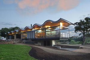 Wavy Brilliance Stunning Sinuous Roof Steals Show